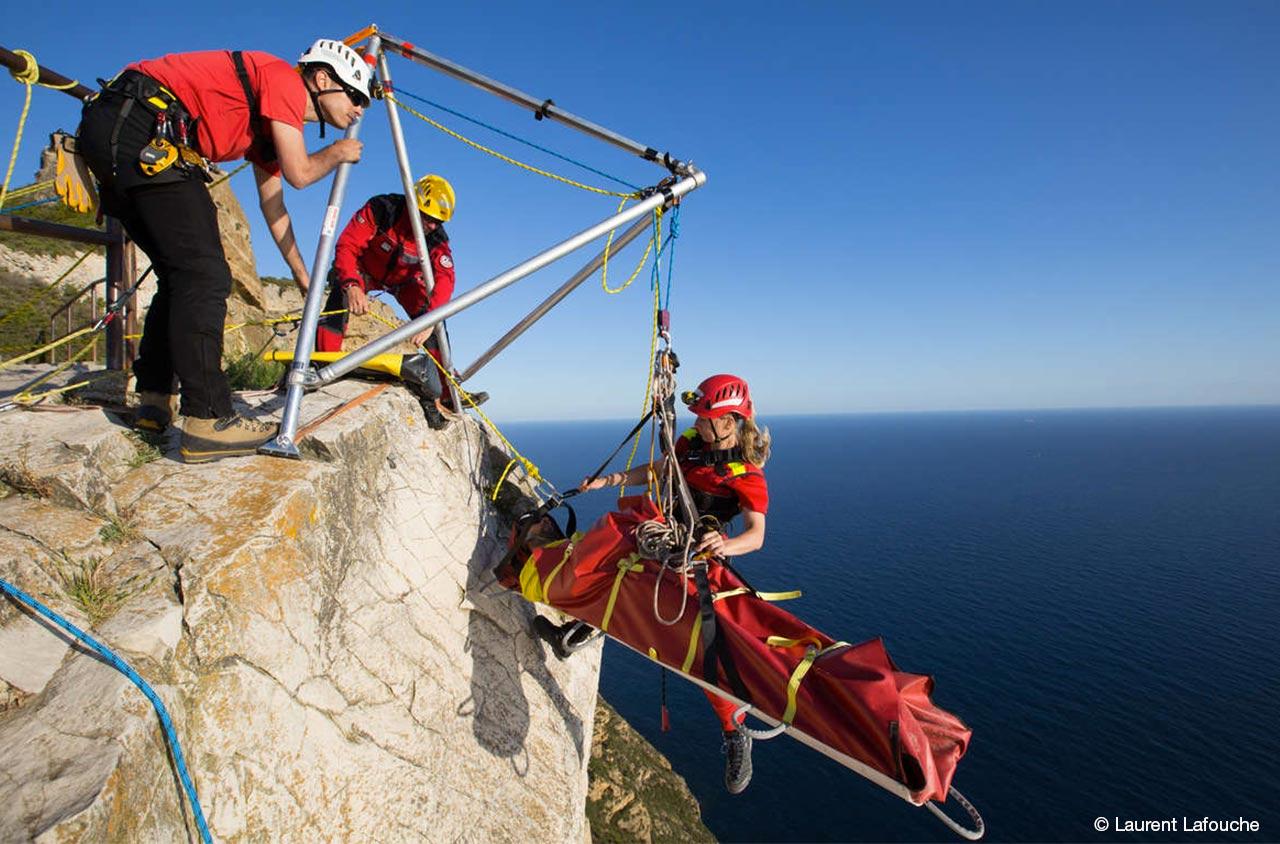 危険な環境での救助 Grimp の訓練 Alteria professional